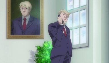 Donald Trump is an Anime Character Now