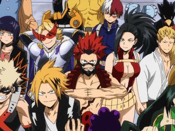Boku no Hero Academia Class 1-A