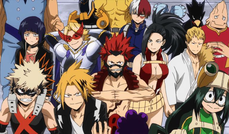 Which Boku no Hero Academia Class 1-A Hero Are You?