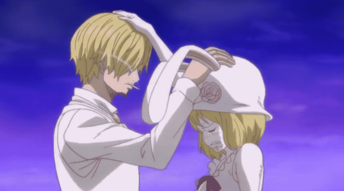 Sanji and carrot head pat