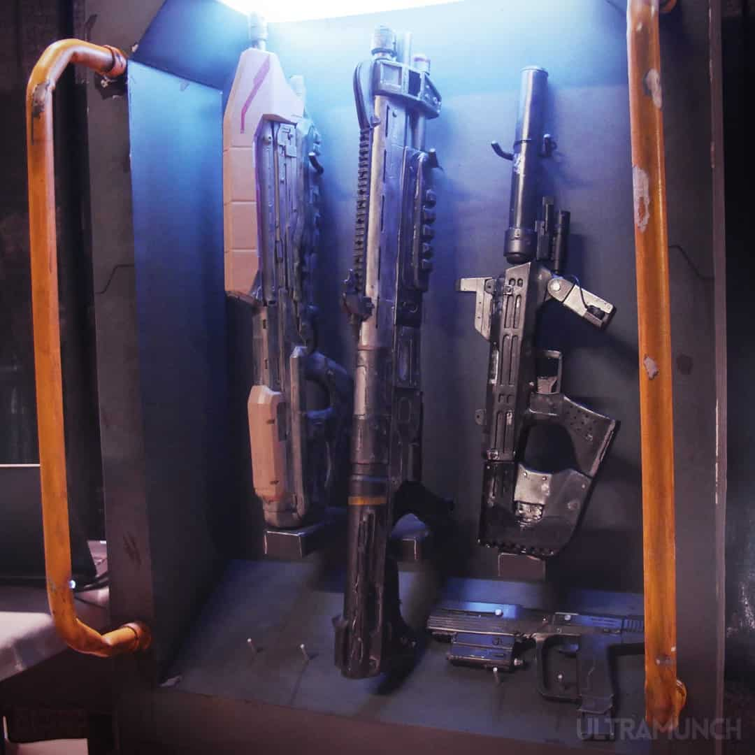 Halo silenced SMG, shotgun, assault rifle