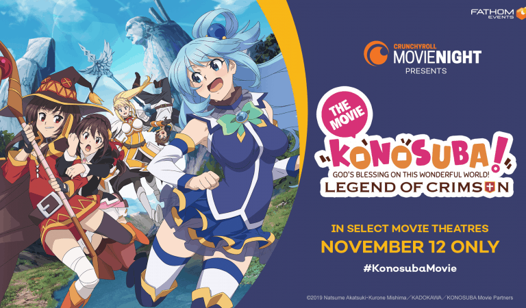 Konosuba Will Be The Next Crunchyroll Movie Night