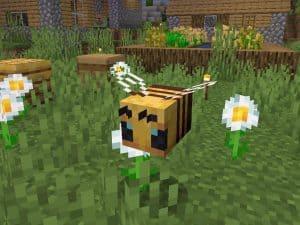 Bees Minecraft