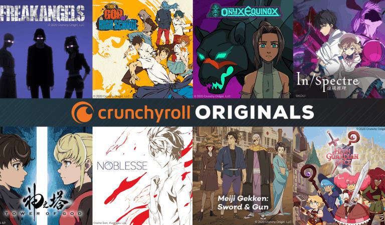 Crunchyroll Announces 7 New Anime Series