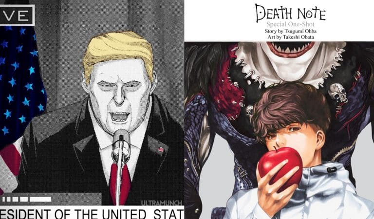 Trump Appears in Death Note One Shot 2020